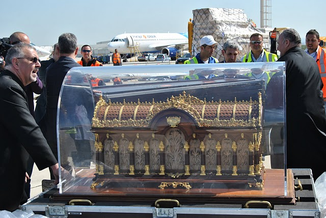 St. Therese Relics arrive in Israel