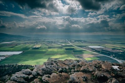 View of Jezreel Valley from Mt. Precipice